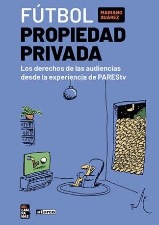 La tapa del libro de Mariano Suárez.