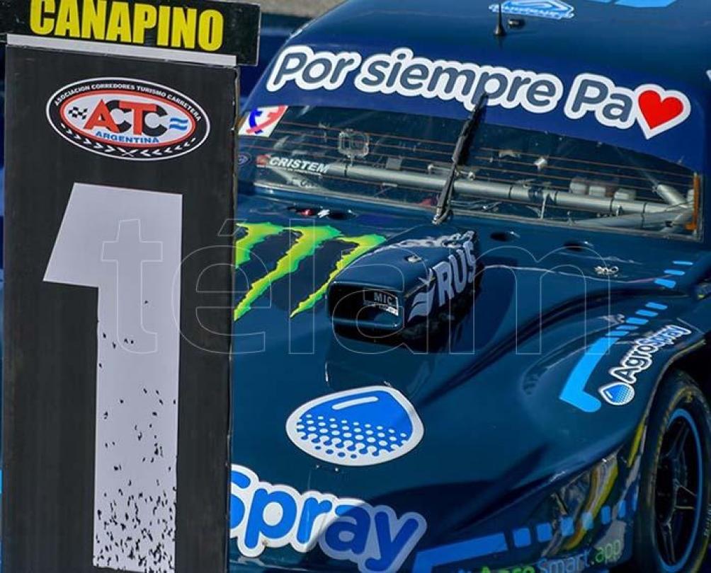 Con colores nuevos, el Chevrolet de Canapino arrancó con una victoria en La Plata.