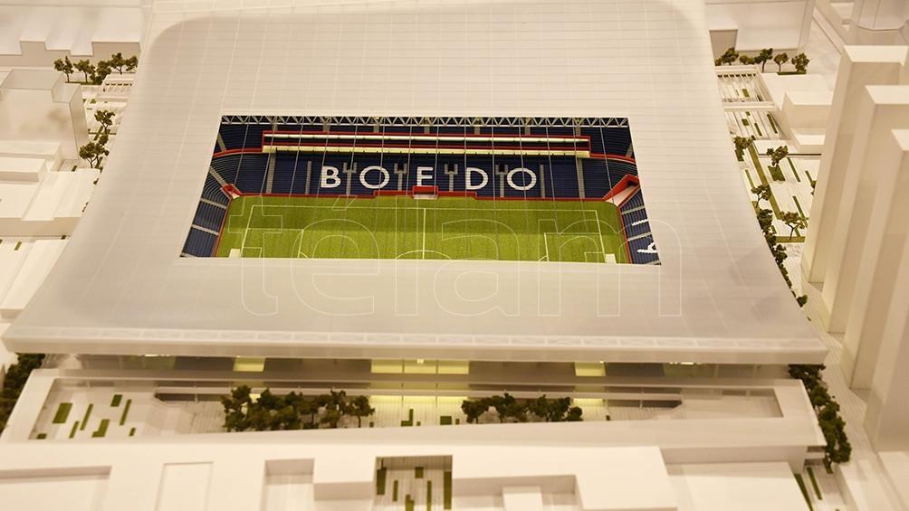 San Lorenzo presentó la maqueta de su máximo anhelo: el estadio en Boedo
