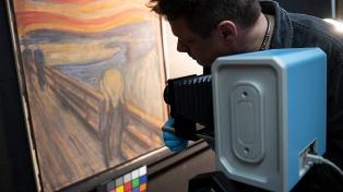 """Revelan que la frase inscripta en """"El grito"""" de Munch fue escrita por el artista"""