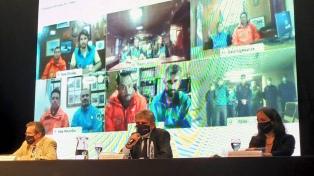 Rossi, Bauer y Filmus encabezaron en Tecnópolis un acto por el Día de la Antártida