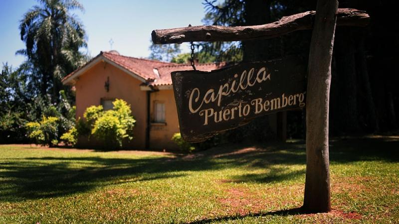 Una visita a Puerto Bemberg lleva a la historia de la yerba mate en el corazón de la selva misionera