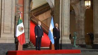 """Alberto Fernández: """"Que la Argentina y México encaren un futuro juntos es nuestro deber"""""""