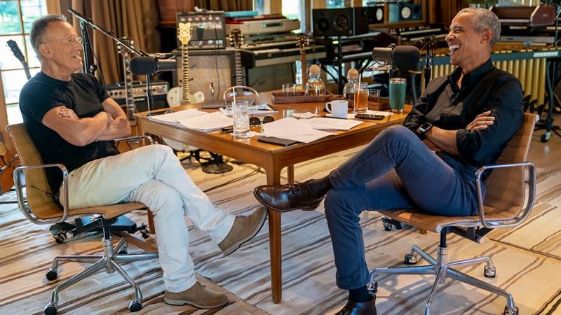 Dos renegados como podcasters: Obama y Bruce Springsteen entre los anuncios de Spotify