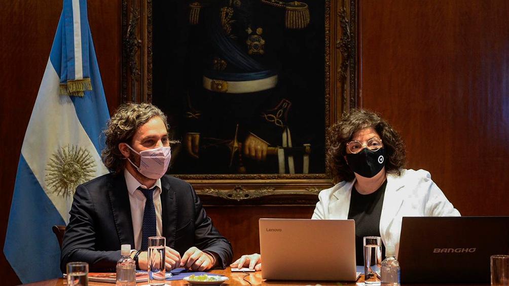 Cafiero convocó a una reunión con expertos que se realizará este lunes con la participación de la ministra de Salud