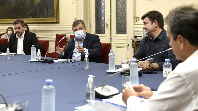 Massa informó a los jefes de bloques de Diputados los detalles de la Asamblea Legislativa