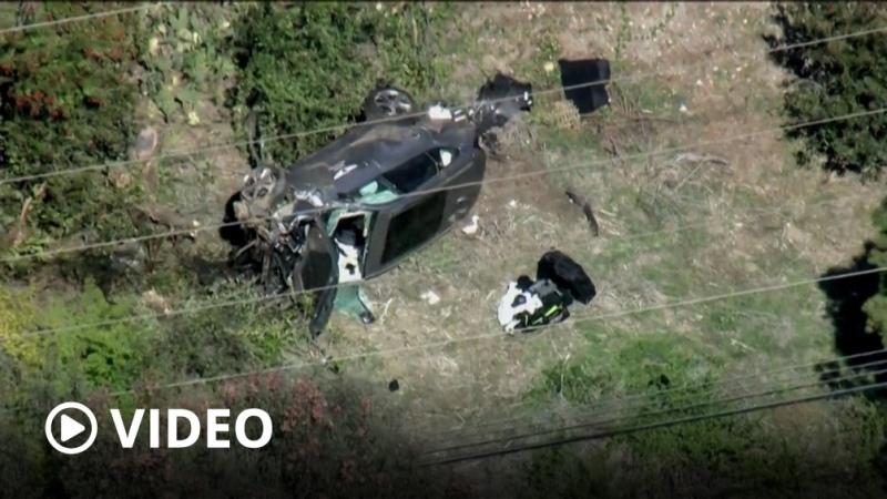 Tiger Woods sufrió un accidente en Los Angeles