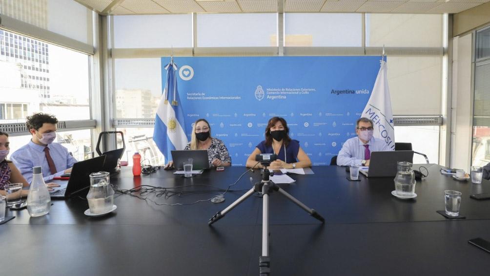 La Argentina presidió la reunión de coordinadores nacionales del Mercosur.