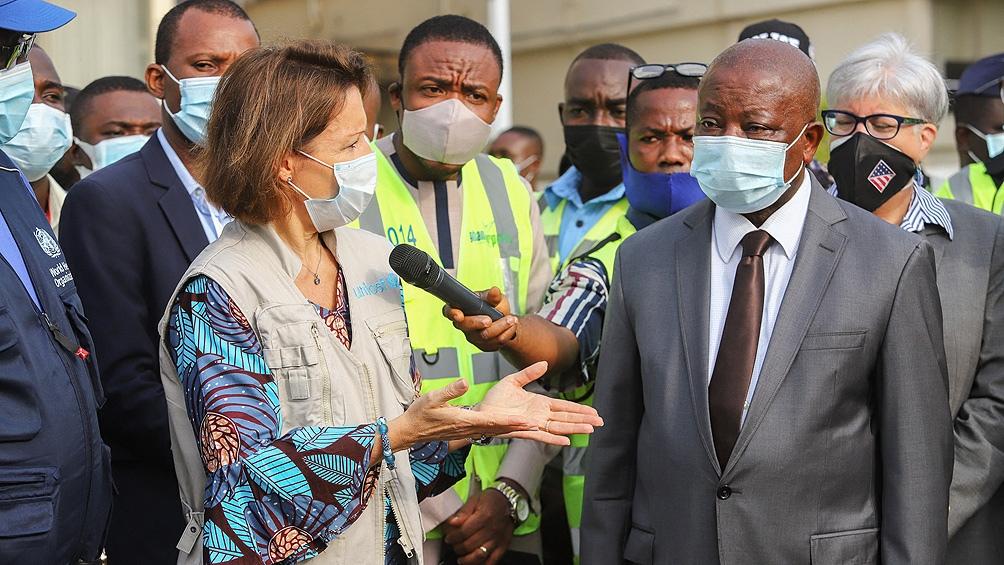 Estas vacunas, destinadas a países de bajos recursos, fueron enviadas por Unicef desde Bombay a Accra.