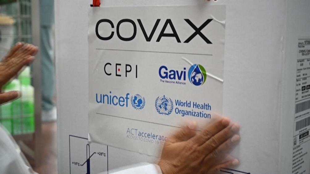 El mecanismo Covax es una alianza que encabeza la OMS para que las vacunas lleguen a los países más pobres.