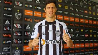"""""""Nacho"""" Fernández brilló en la victoria del Atlético Mineiro"""
