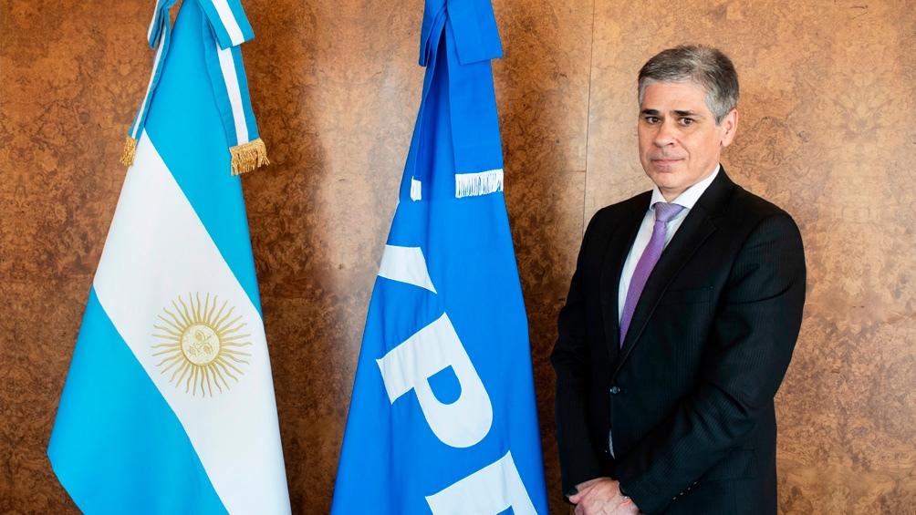 Pablo González, presidente de la petrolera de bandera.