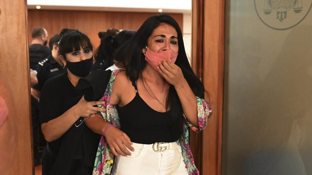 """Luego de conocerse el fallo, una hermana de María del Rosario expresó su """"decepción"""" ante los medios locales."""