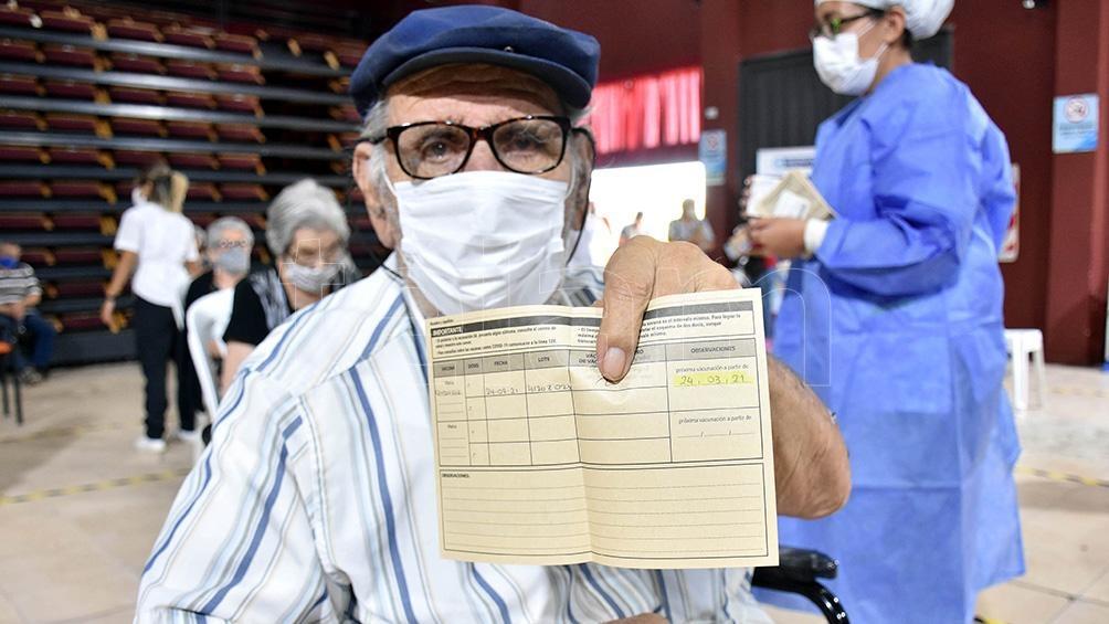 Se aplicaron más de 4.000.000 de vacunas en la campaña nacional.