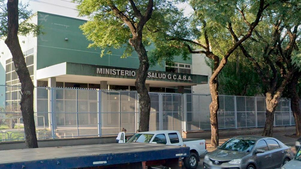 Sede del Ministerio de Salud de la Ciudad de Buenos Aires.