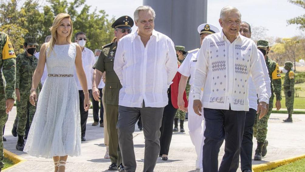 """Alberto Fernández llamó en México a trabajar """"unidos para lograr la igualdad en América Latina""""."""