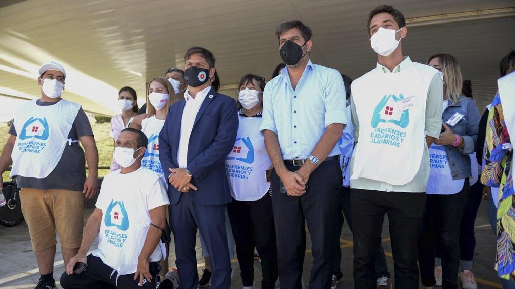 La provincia de Buenos Aires vacunó a más de 420 mil personas