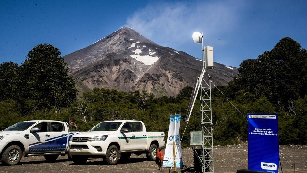 Se instalaron siete estaciones de monitoreo en tiempo real que incluirán cinco estaciones sismológicas.
