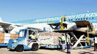 Las aerolíneas latinoamericanas transportaron un 20,5 por ciento menos de carga en febrero
