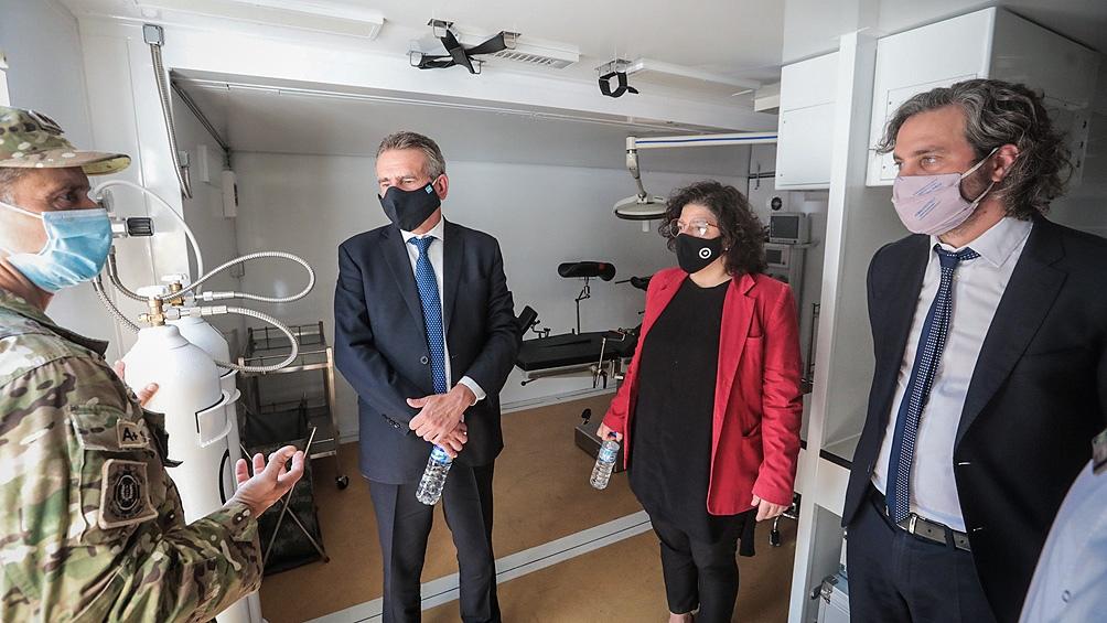 """Rossi: """"Con este Hospital las Fuerzas Armadas incrementan sus capacidades para continuar brindando asistencia"""""""