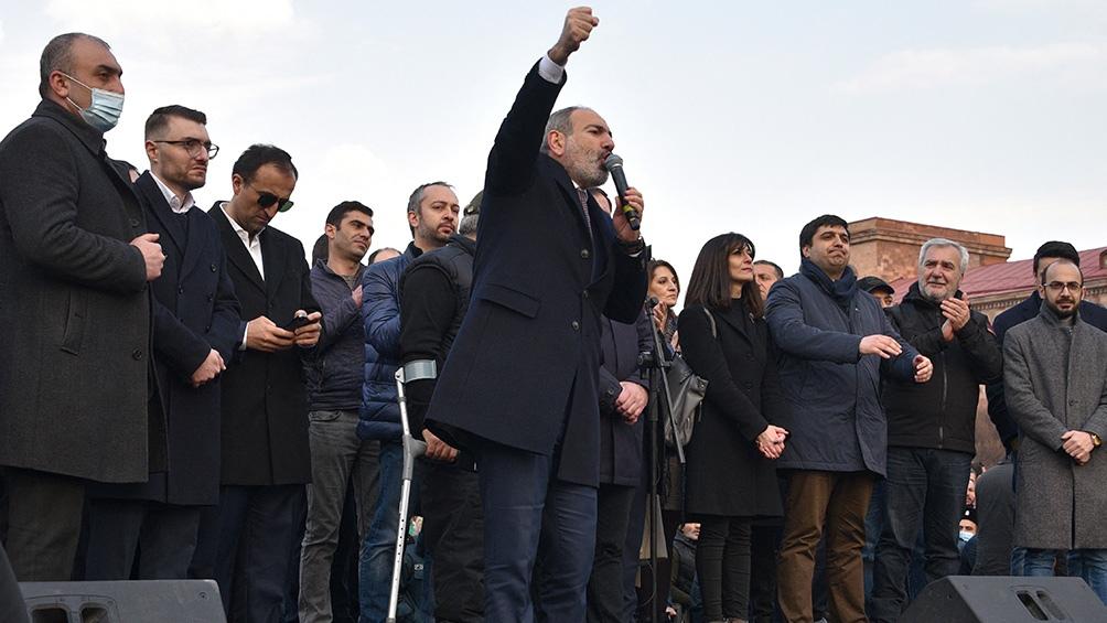 Hasta las elecciones de junio Nikol Pashinian seguirá siendo primer ministro interino