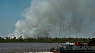 Detectan nuevos incendios en las islas del delta del Paraná
