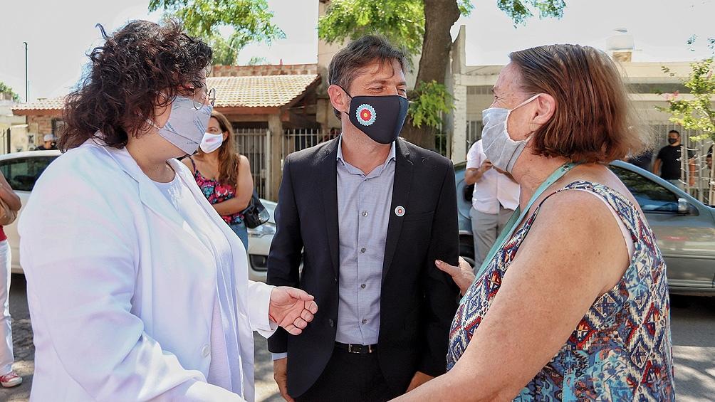 """El gobernador valoró """"el trabajo del presidente Alberto Fernández y de su equipo para conseguir las vacunas en un momento en el que todo el mundo tiene dificultades para adquirirlas"""""""