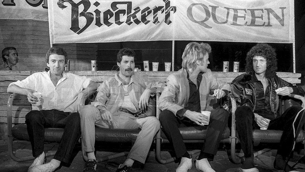 Queen: Freddie Mercury, Brian May, Roger Taylor y John Deacon