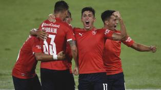 Independiente  se impuso a Gimnasia en Avellaneda