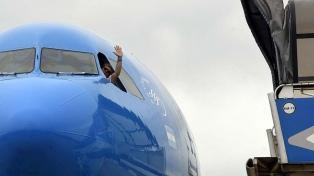 El vuelo de Aerolíneas con más vacunas Sputnik V regresará el viernes