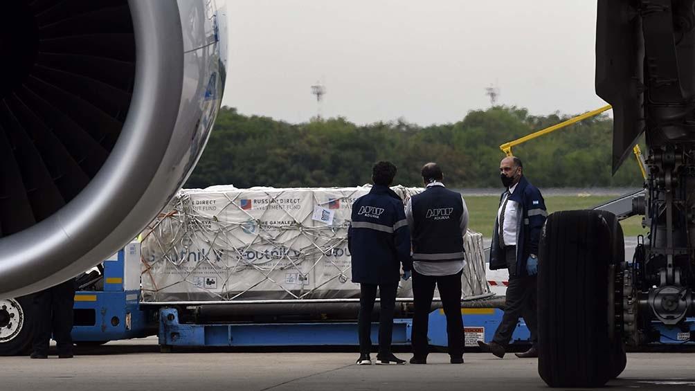 El vuelo había partido el miércoles a la madrugada argentina con el número de vuelo AR1060