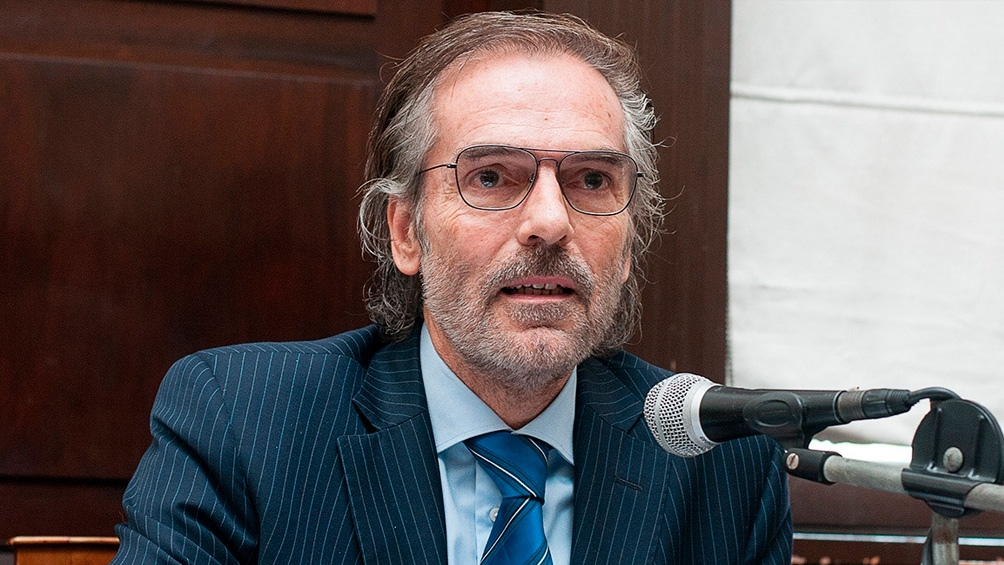 Gustavo Hornos es el presidente de la Cámara de Casación, acusado de visitar la Casa Rosada.