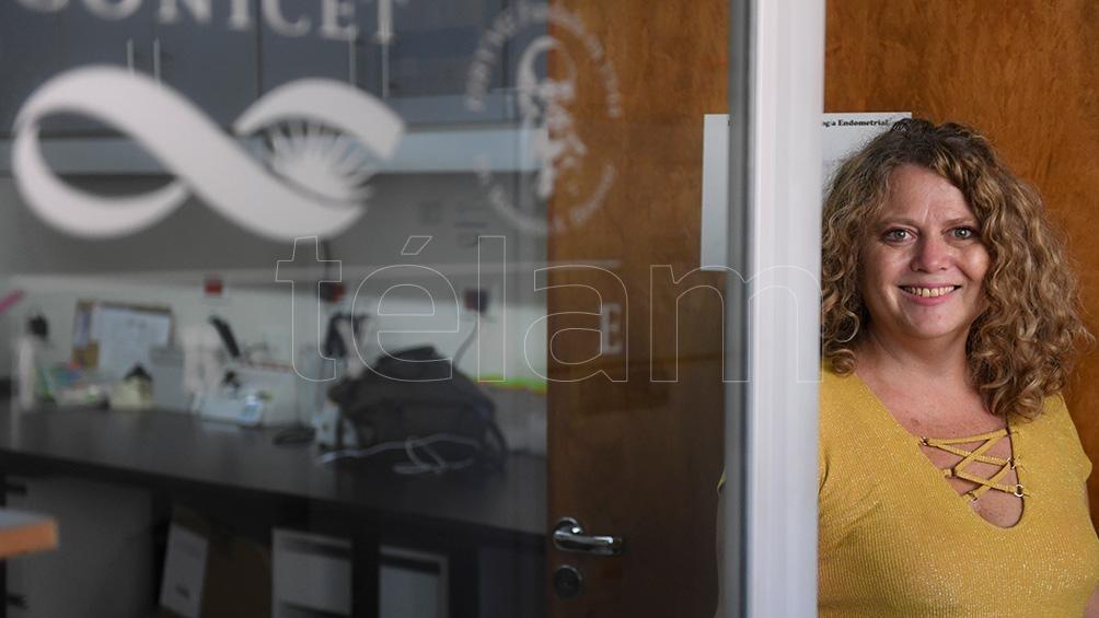 Gabriela Meresman es la directora del instituto que estudia los efectos del extracto de romero.