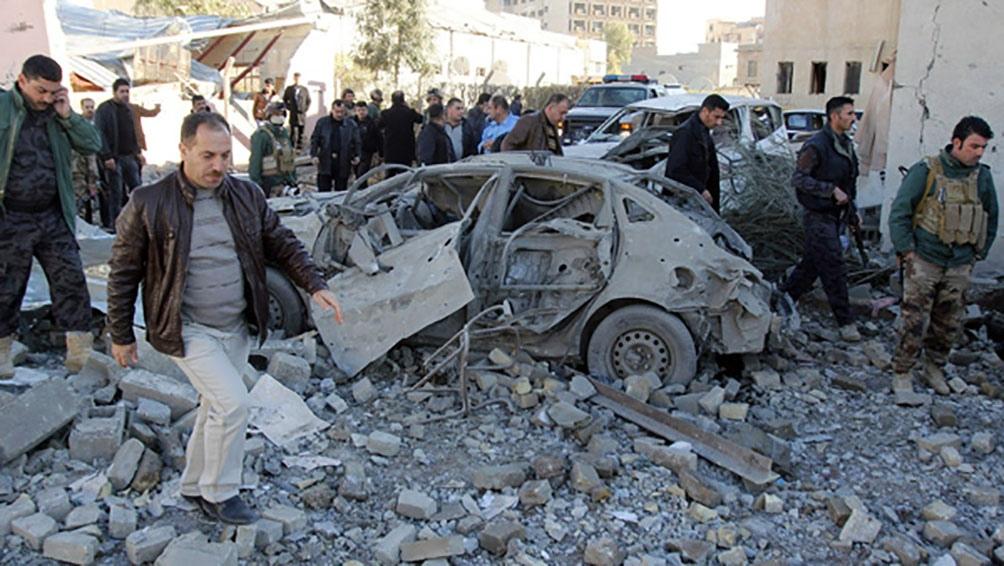 Además de las siete víctimas fatales, resultaron heridos otros cinco militares y seis milicianos.