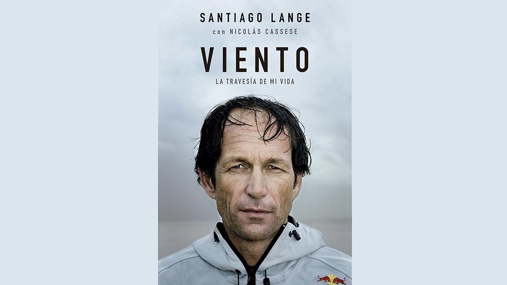 La tapa del libro de Santiago Lange.
