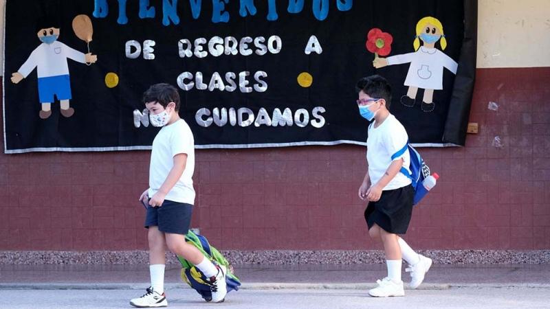 Formosa: comenzaron las clases con vacunación e inauguración de escuelas