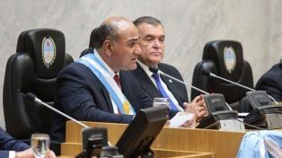Manzur: �Tengo la firme convicción que pondremos a nuestro Tucumán de pie�