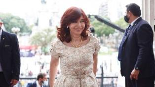 Cristina Fernández de Kirchner renunció a su sueldo de vicepresidenta