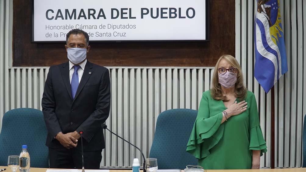 """La gobernadora destacó que """"aún en pandemia"""" no descuidó los objetivos a cumplir"""