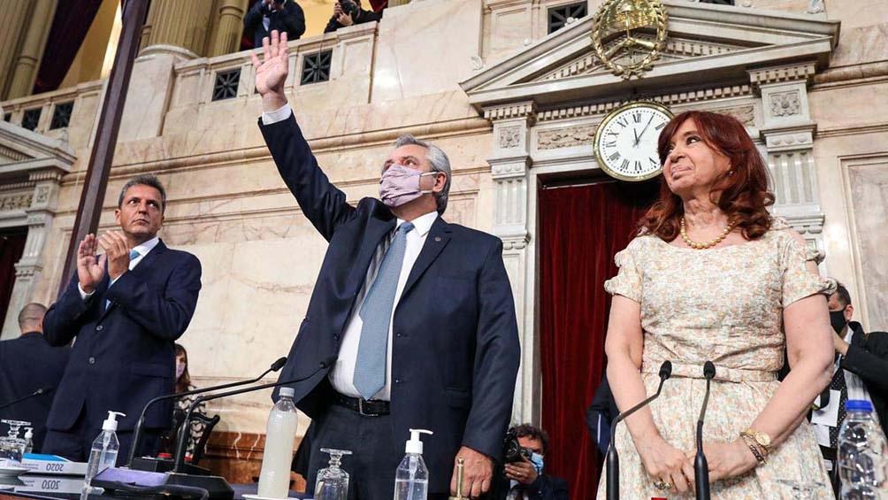 """Fernández ante la Asamblea Legislativa: """"Nunca más a generar un  endeudamiento asfixiante"""" - Télam - Agencia Nacional de Noticias"""