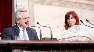 Alberto Fernández destaca recuperação da economia e melhoria da indústria