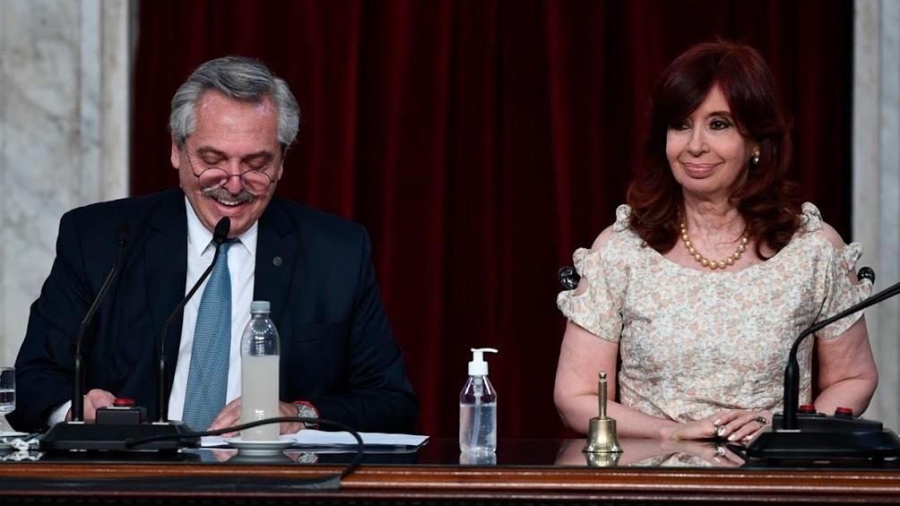 El Presidente también destacó el restablecimiento de la entrega del premio Azucena Villaflor de De Vincenti, en 2020.