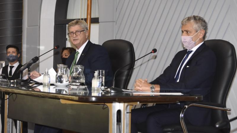"""Ziliotto destacó un """"Estado presente"""" para dar respuesta a la pandemia"""