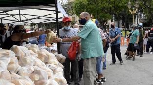Entregaron más de 1.000 kilos de pan para reclamar la regulación del precio de la harina