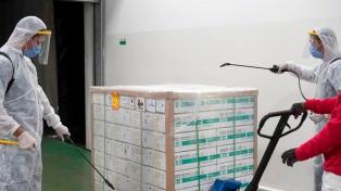 Continúa la distribución en todo el país de las 909.000 dosis de Sinopharm