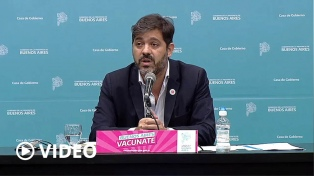 """Bianco: """"No vamos a permitir irregularidades en el plan de vacunación"""""""