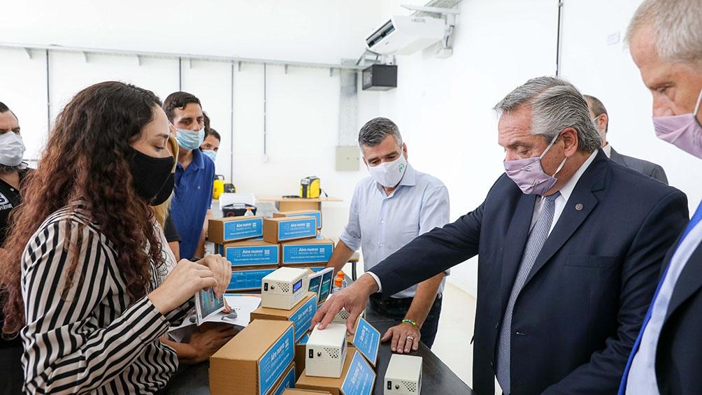 La universidad produce dispositivos de detección de Covid19 en el aire