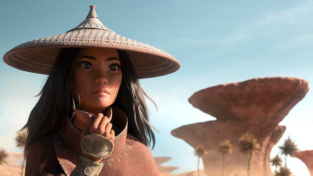 """Raya y El Último Dragón, un film que cuestiona la etiqueta de """"princesa""""."""