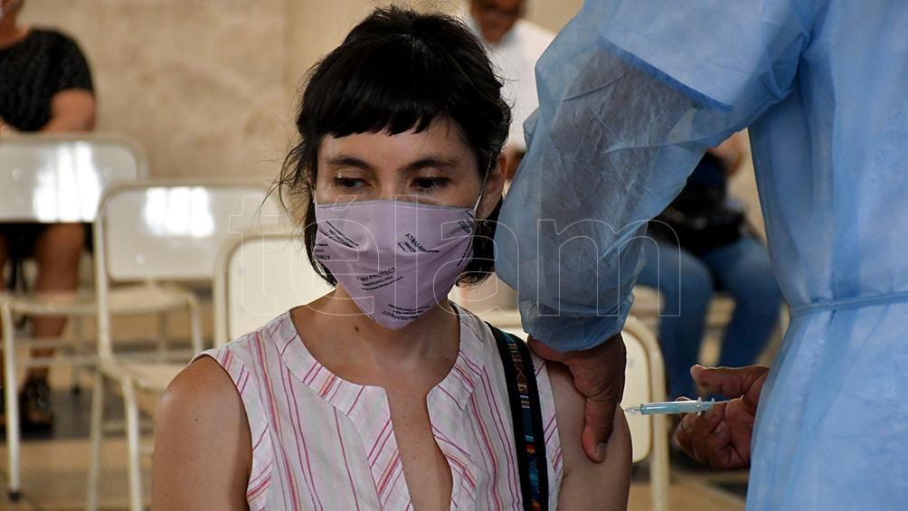 En Córdoba, fuentes oficiales indicaron que se aplicaron 600.333 vacunas.