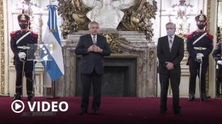 Fernández recibió las cartas credenciales de 18 nuevos embajadores extranjeros